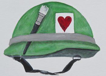 VETERAN Heart Art